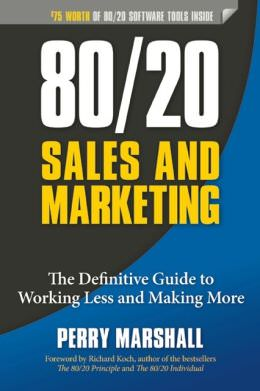 80/20 Sales and Marketing Book Cover